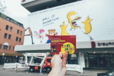 Breuninger Wallofanimation Trickfilmfestival ITFS