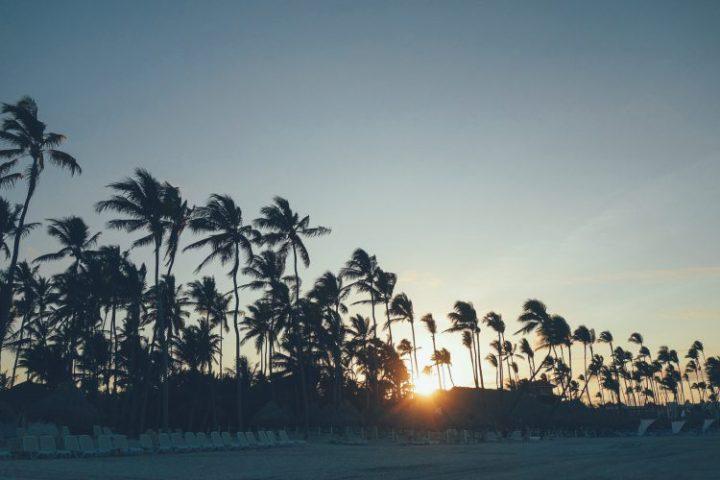 Punta Cana Beach Sonnenuntergang