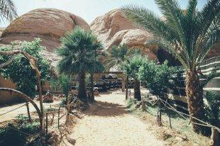 Desert Camp Jordanien