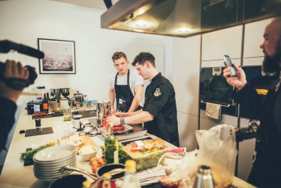 Kochen mit Oliver Schneider