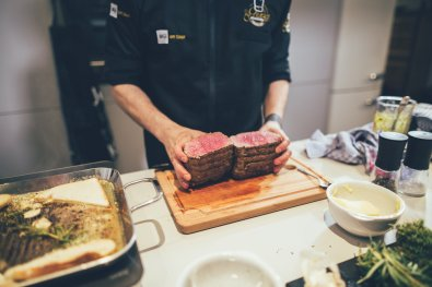 Beef medium mit Miji