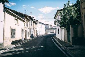 Dorfblick in Spanien
