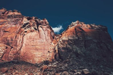 USA, Capitol Reef National Park, American Discovery Trail, Utah