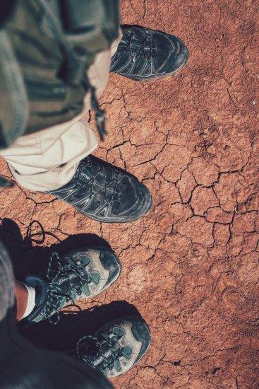 Schuhe müssen beim Wandern viel aushalten
