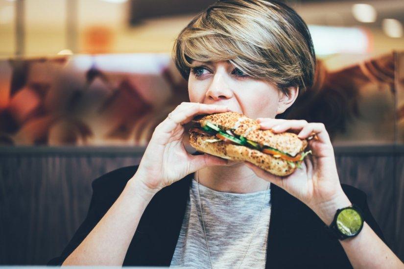 Subway Sandwich Chicken Fajita