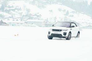 Jaguar Land Rover Ice Driving Experience