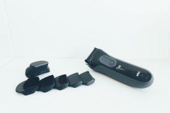 Braun Series 3 ProSkin Barttrimmer mit Aufsätzen