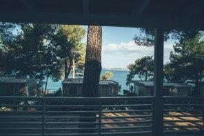Campingplatz Lanterna in Istrien