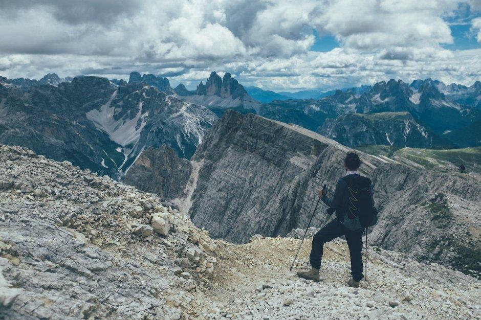 Dürrenstein, Wandern in den Dolomiten