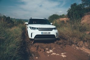 Land Rover Discovery am planschen