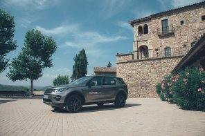 Land Rover Discovery im Ruhemodus