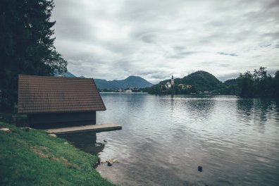 SlowenienCamping am See in Bled