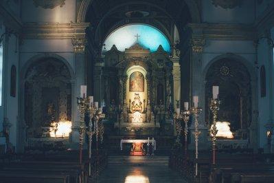 Kirche in der Altstadt Piran, Slowenien
