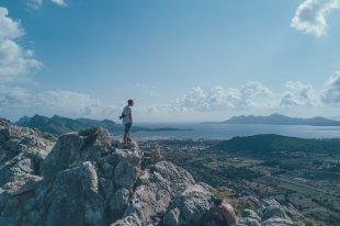 Thies in den Bergen Mallorcas