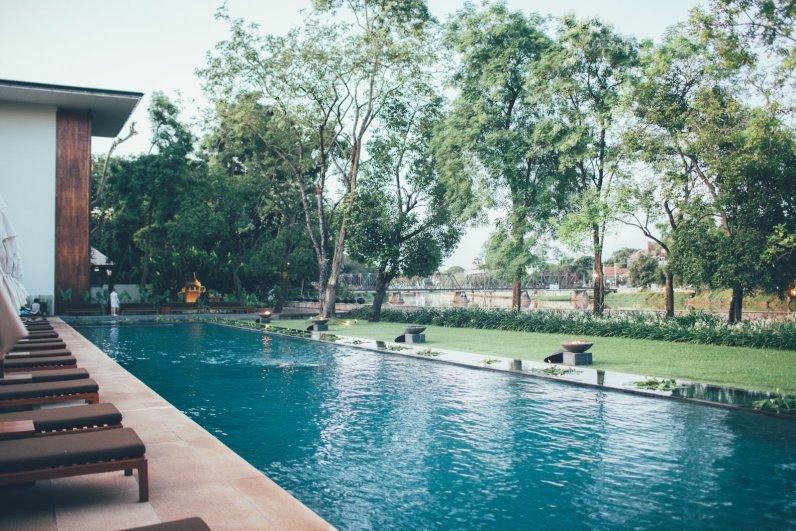 Pool Anantara Chiang Mai