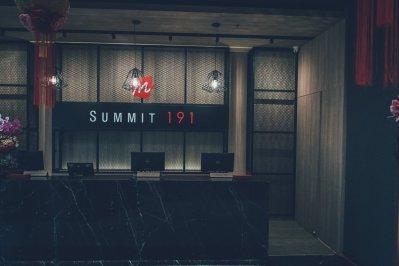 Die Lobby im 14. Stock des Summit 191