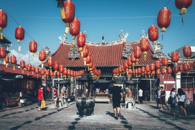Kuan Yin Temple in der Canon Street