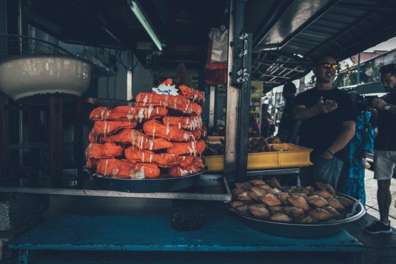 Indian Streed Food
