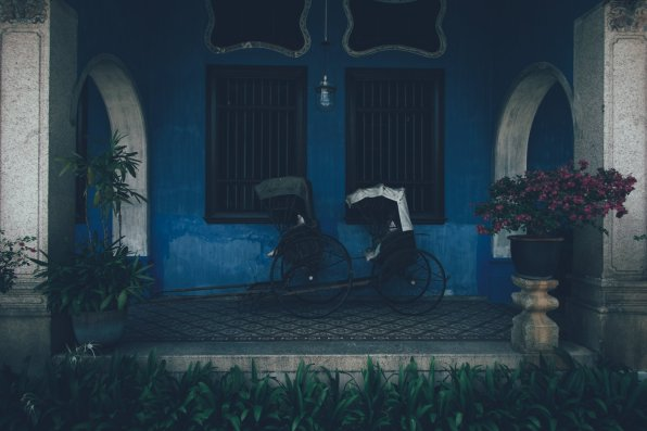 Cheong Fatt Tze-The Blue Mansion