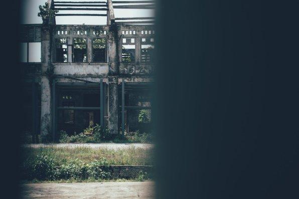 Baufällige Gebäude aus der Kolonialzeit stehen kurz vor ihrer Instandsetzung