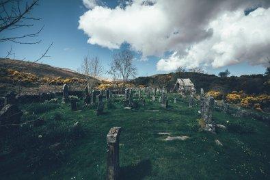 Friedhof auf der Insel Jura