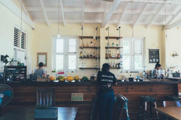 Junge Entrepreneurs in Curacao