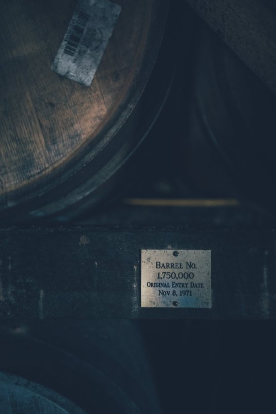 Whiskey Barrel der Heaven Hill Destillerie