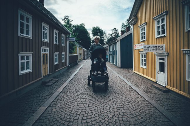 Mit dem Stokke® Trailz™ in Astrid Lindgrens Värld