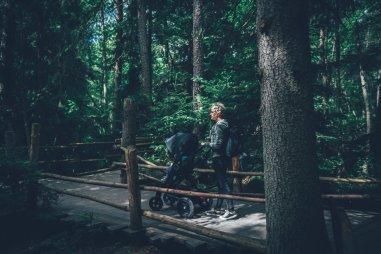 Mit dem Stokke® Trailz in der Astrid Lindgren Värld