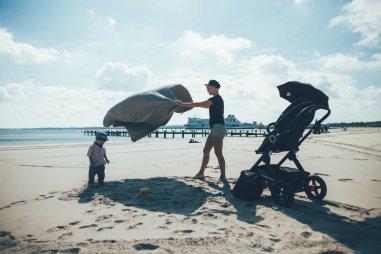 Bereit für ein Picknick am Strand in Travemünde!