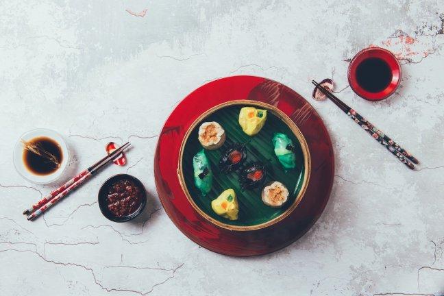 Steamed Dim Sum Platter - Fotografie aus dem Shangri-La Dubai