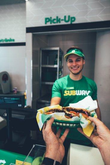 Sandwich-Artist Sven bei Subway