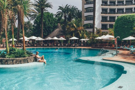 Poolanlage im Seaside Palm Beach
