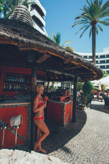 Poolbar im Seaside Palm Beach