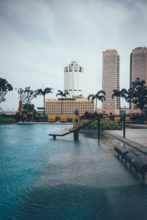 Außenbereich des Shangri-La Colombo