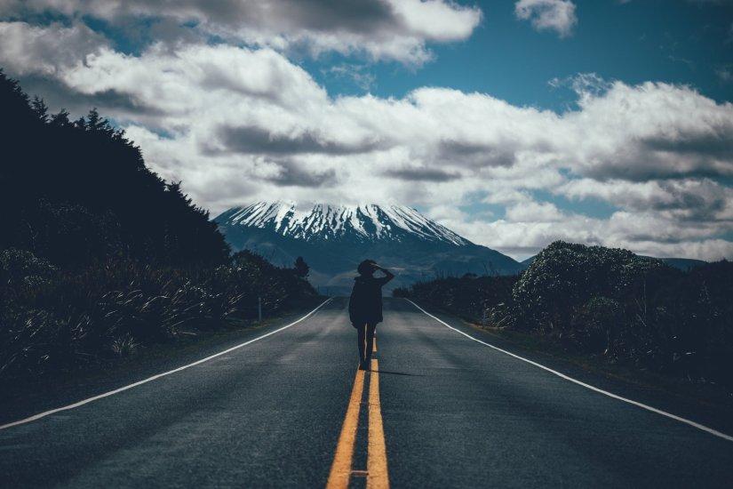 Unterwegs im Tongariro Nationalpark