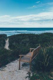 Der idyllische Weg zum Strand