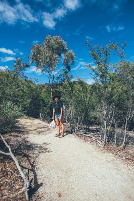 Wandern mit Kleinkind zum Wineglass Bay