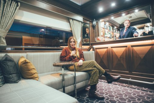 Drinks an Bord des Belmondo Grand Hibernian