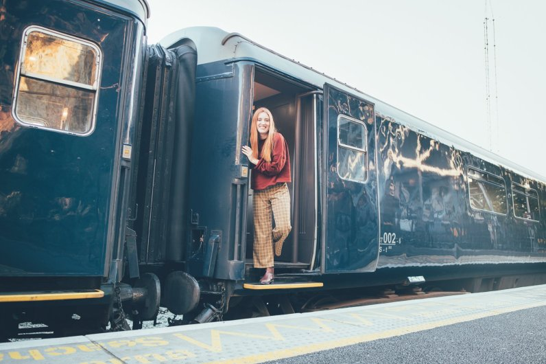 An Bord des Belmond Grand Hibernian in Irland