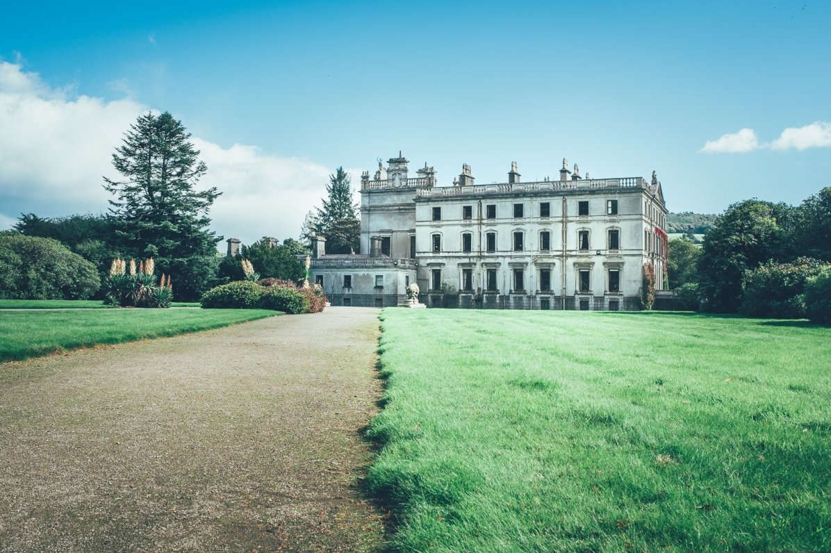 Curraghmore House in Irland