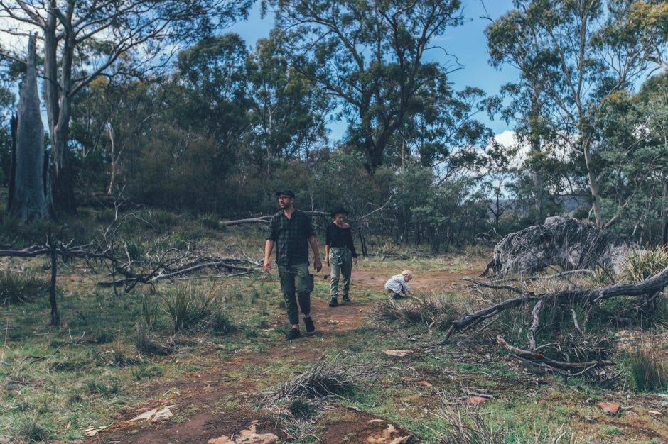 Unsere Familie in Tasmanien