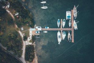Bootssteg Green Turtle Cay