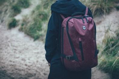 Victorinox Daypack im Regen