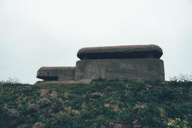 Der Zweiteweltkrieg hinterließ in Guernsey seine Spuren
