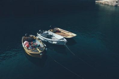 Im kleinen Hafen von Sark