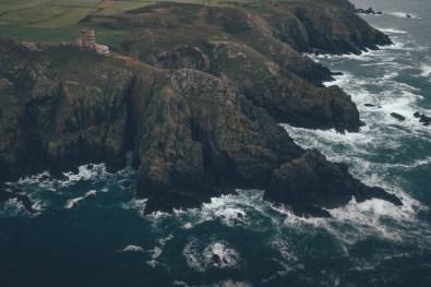 Raue Küste auf Guernsey