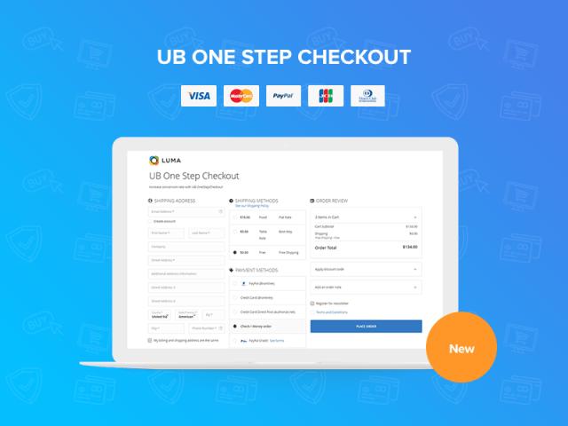 [Magento 2] UB One Step Checkout
