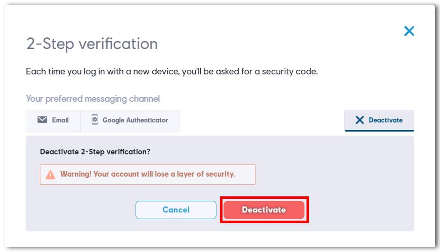 2 step verification on your ubisoft account