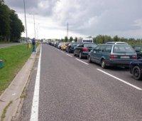 На границе Украины с Польшей застряли сотни авто